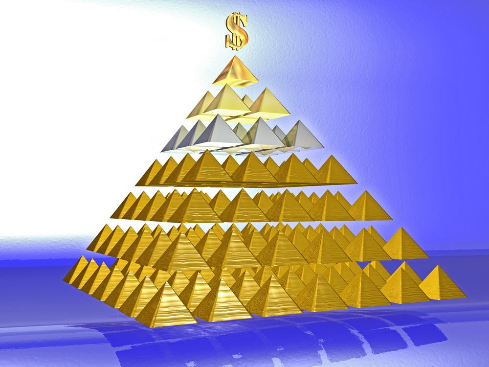 Байқаңыз, қаржы пирамидасы!