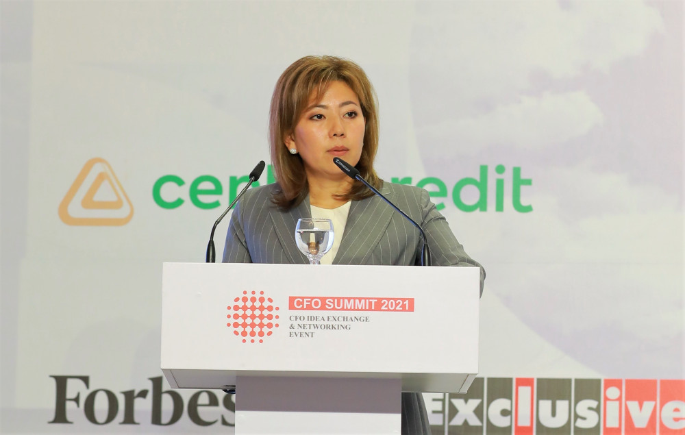 О новых направлениях в развитии финансовых рынков рассказала Председатель Агентства Мадина Абылкасымова
