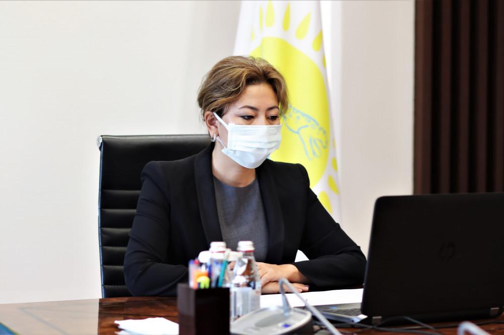 Агенттіктің төрағасы Мадина Әбілқасымова Nur Otan партиясының қоғамдық қабылдауында азаматтарды қабылдады